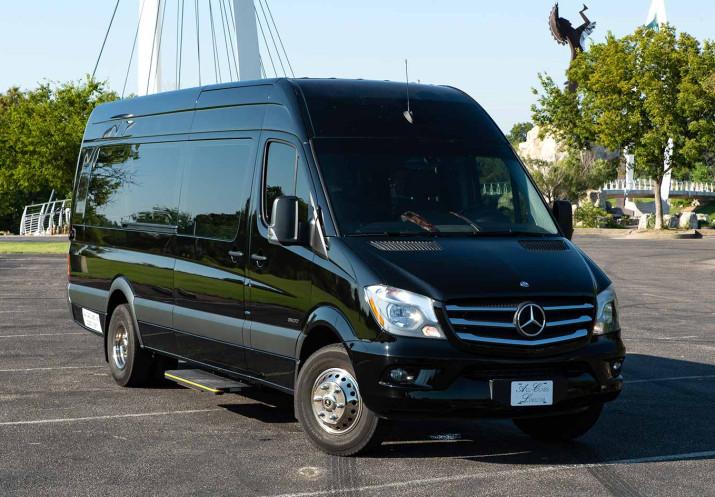 Limo Service Executive Style Van Mercedes