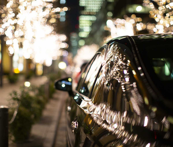 Limo Transportation Christmas Lights Tour